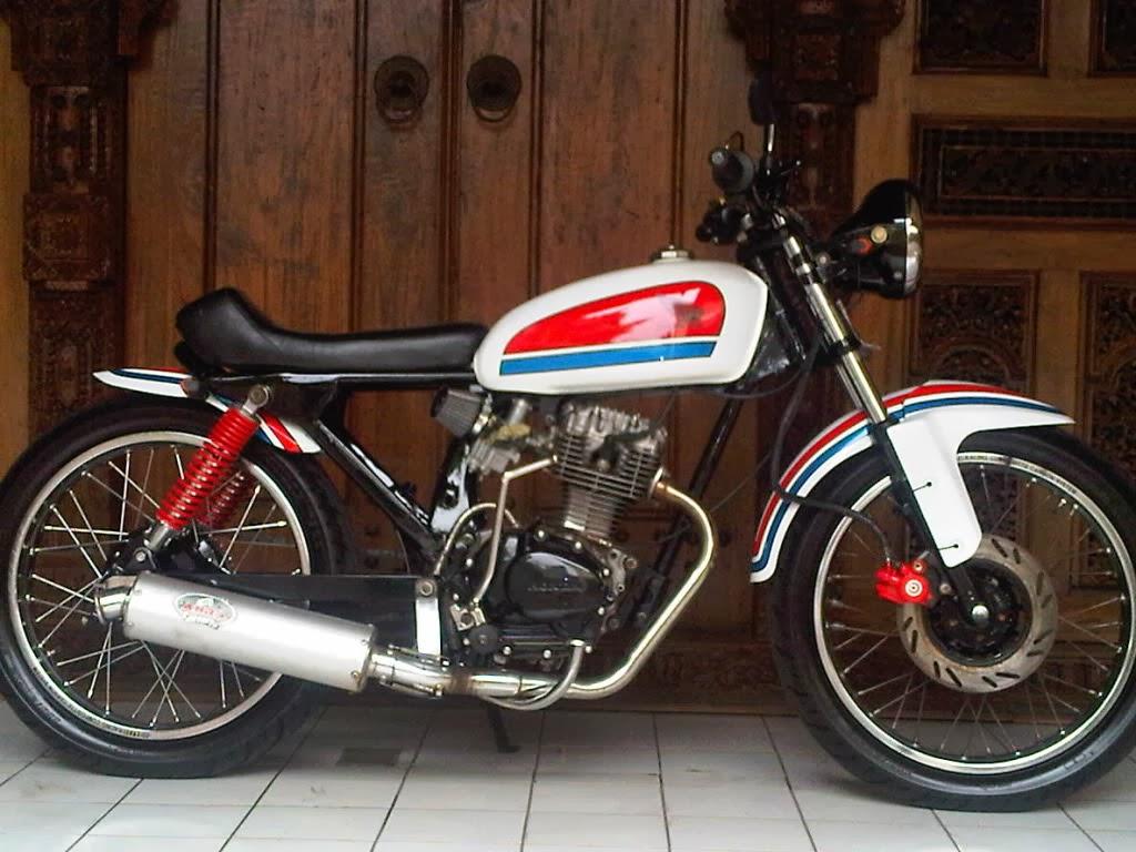 104 Gambar Modifikasi Motor Cb Lama Modifikasi Motor Honda Cb Terbaru