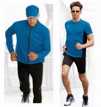 ropa running hombre Lidl chaqueta pantalón deportivo camiseta