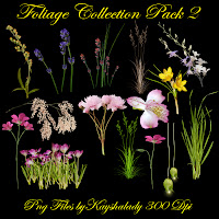 Foliage Collection Pack 2 PNG