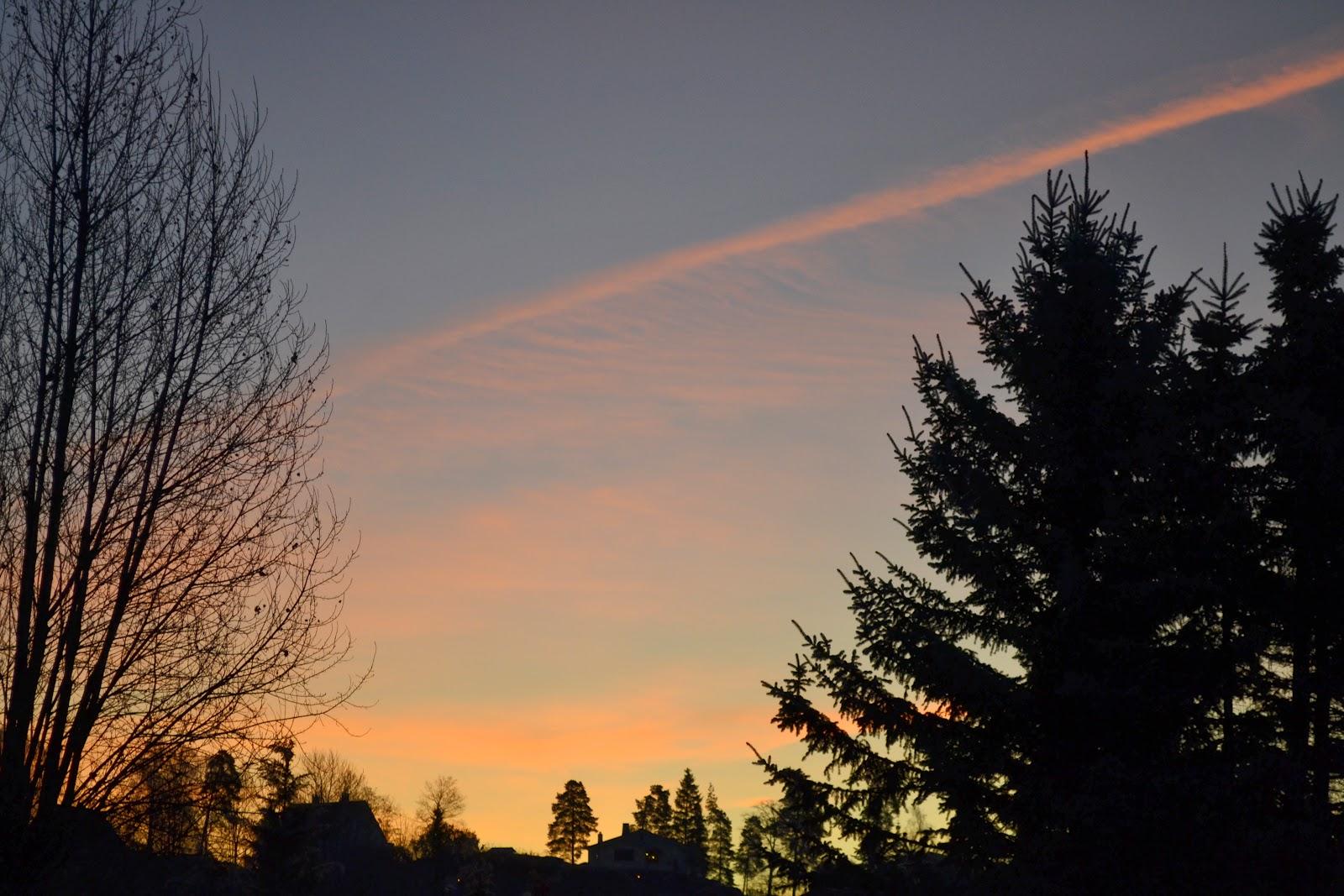 Evening in Hovik