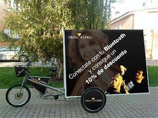 negocio bicicletas publicitarias