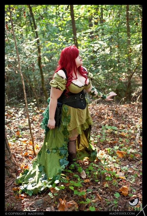 cosplay steampunk de poison ivy profil