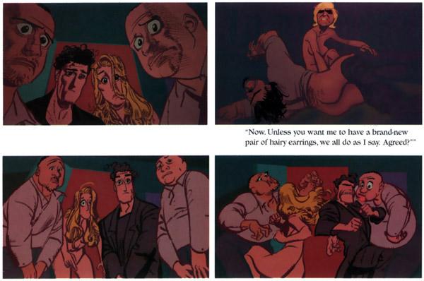 ... with a love story background..but a mature Vertigo comic book title.