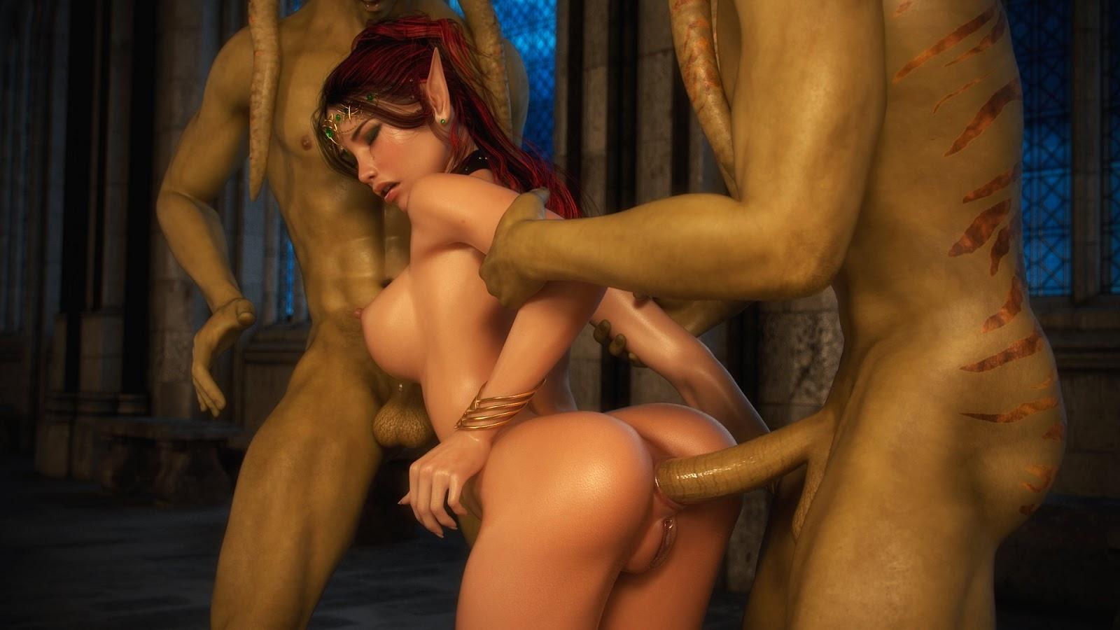 Sample 3d porn monster xxx clip