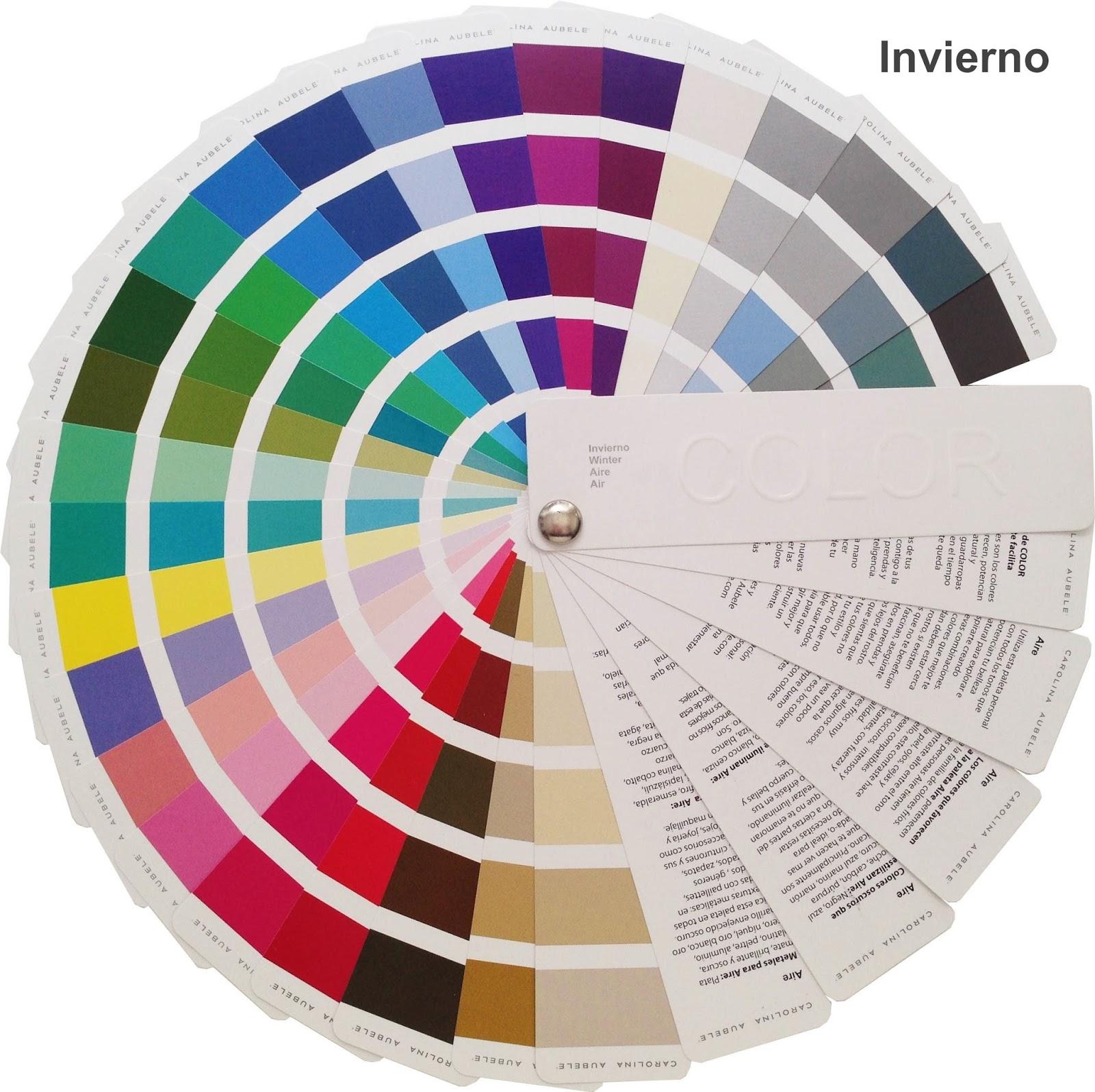 Como determinar tu colorimetr a - Paleta cromatica de colores ...
