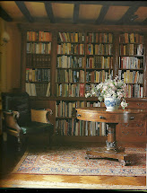 Library English Cottage Interiors