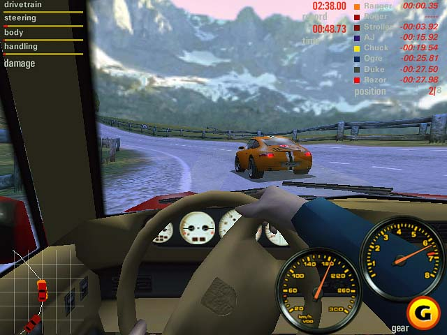 PC GAME Need For Speed - Porsche Unleashed 2000
