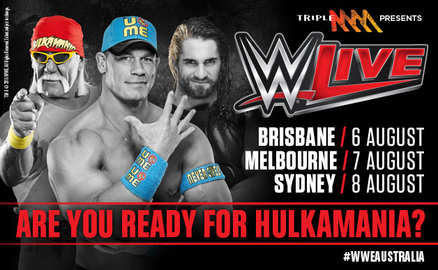 WWE Live 2015 Australian Tour - Brisbane, Melbourne and Sydney