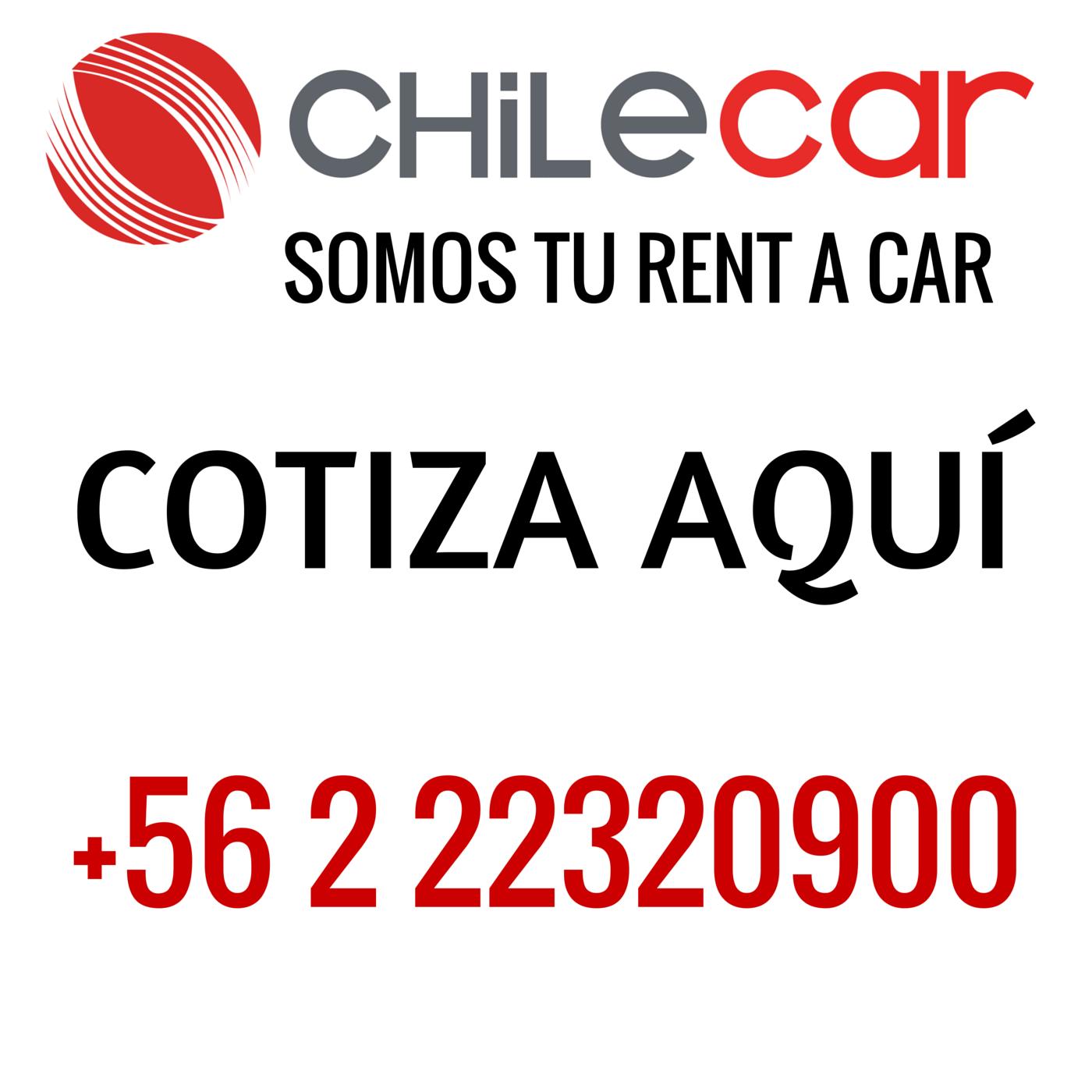 ARRIENDO DE AUTOS EN CHILE