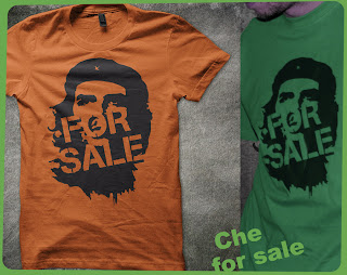 che for sale idéologie icone capitailme image pervertie   tee-shirt t-shirt  flex www.rueduteeshirt.com
