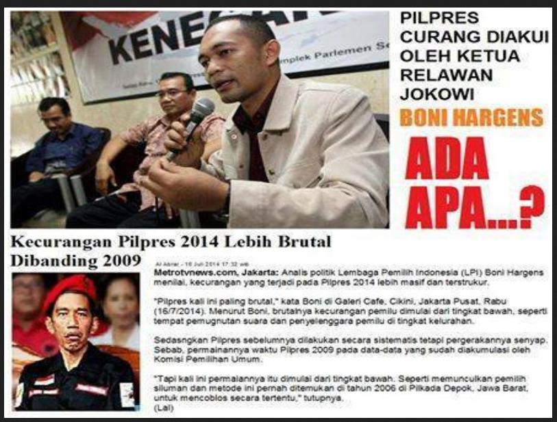 "Apakah ""Kecurangan"" Jokowi Bakal Diungkap?"