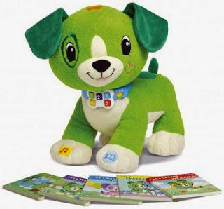 peluche interactivo Scout Lee y juega conmigo Cefa Toys con cuentos