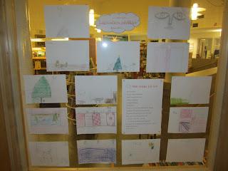 Illustrerade juldikter av lågstadiet
