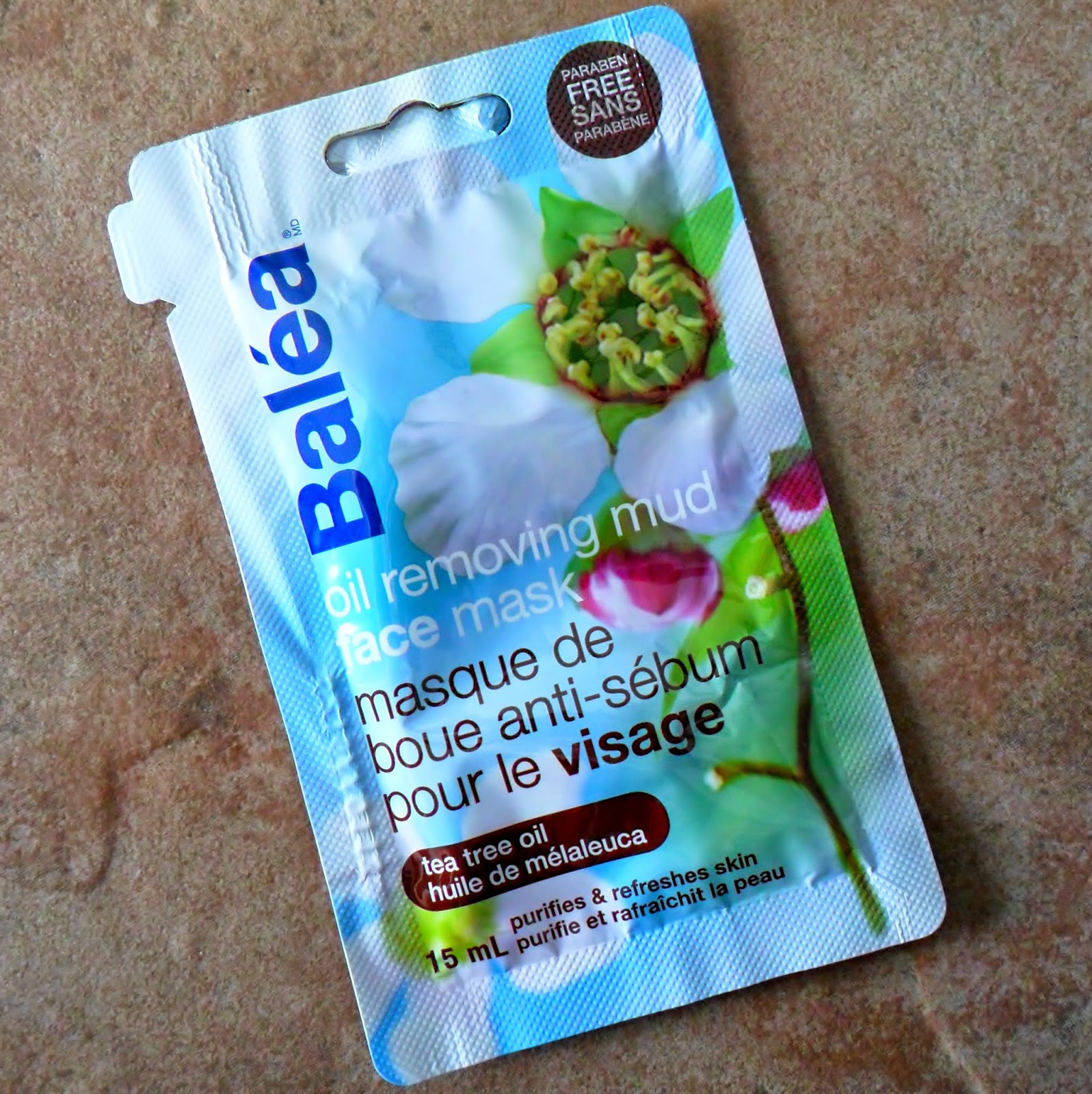 Review: Balea Oil Removing Mud Face Mask with Tea Tree Oil