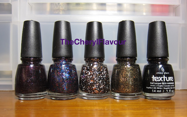 China Glaze Halloween 2013 - Monster Ball collection