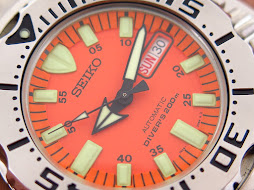 SEIKO DIVER ORANGE MONSTER BRACELET FIRST GEN - SEIKO SKX781 - AUTOMATIC 7S26 - NEW OLD STOCK(NOS)