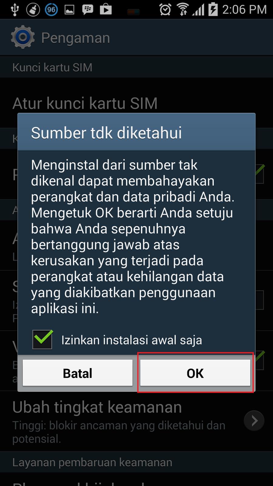 download dan instal bbm3