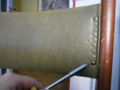 Reconstrucci n tuneo y tapizado de una silla bricolaje - Chinchetas para tapizar ...