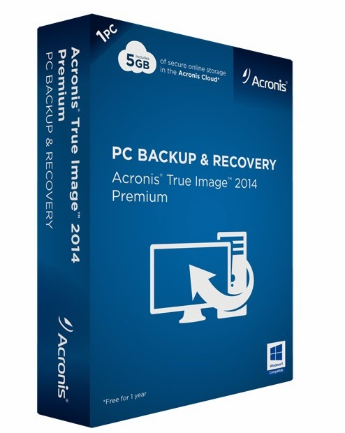 Acronis True Image Home 2014 v7 Full İndir