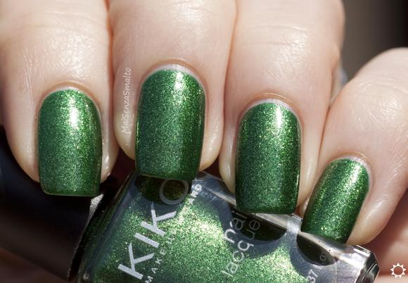 Kiko 533 Verde Dorato Perlato