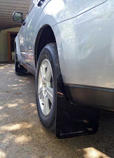 Rally Armor Mud Flaps for the Subaru Forester