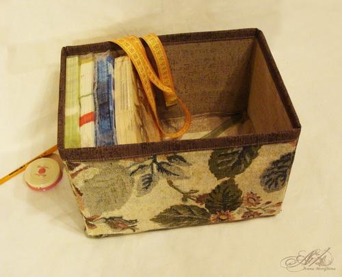 Коробка для мелочи своими руками