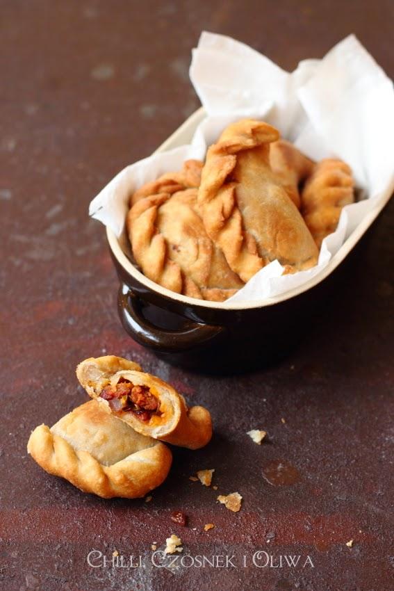 empanadas z chorizo przepis