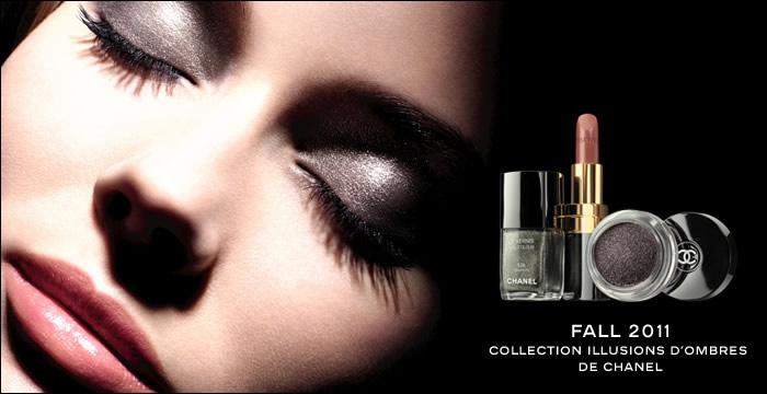 maquillaje otoño invierno 2011 Chanel Illusions D'Ombre