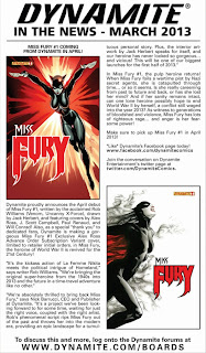 Miss Fury In The News