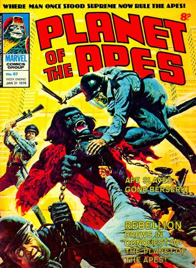 Marvel UK Planet of the Apes #67
