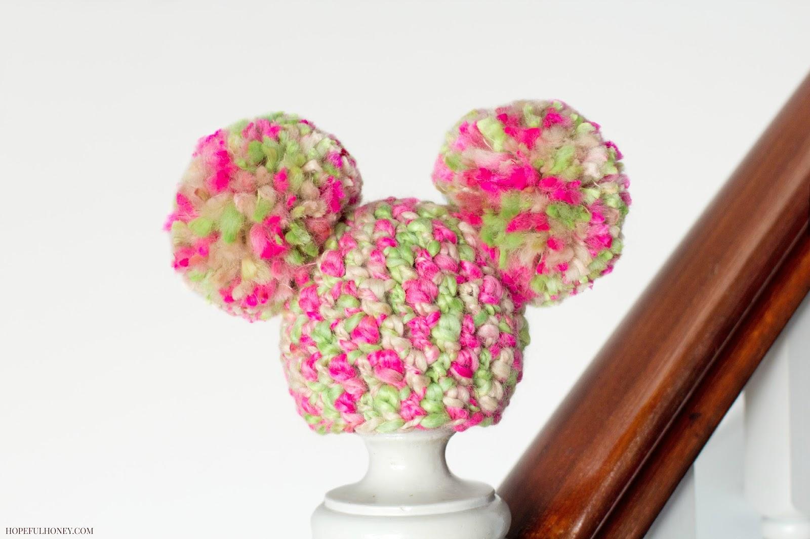 Newborn Fairy Floss Pom Pom Hat - Interweave