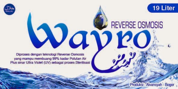 air minum wayro