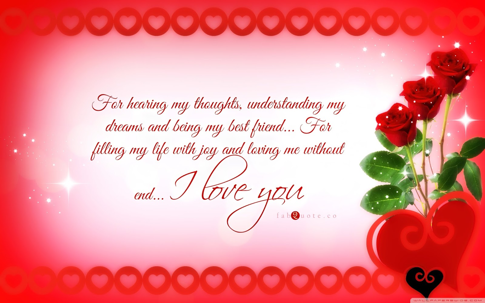 Valentines Day HD I Love You Images for Lovers