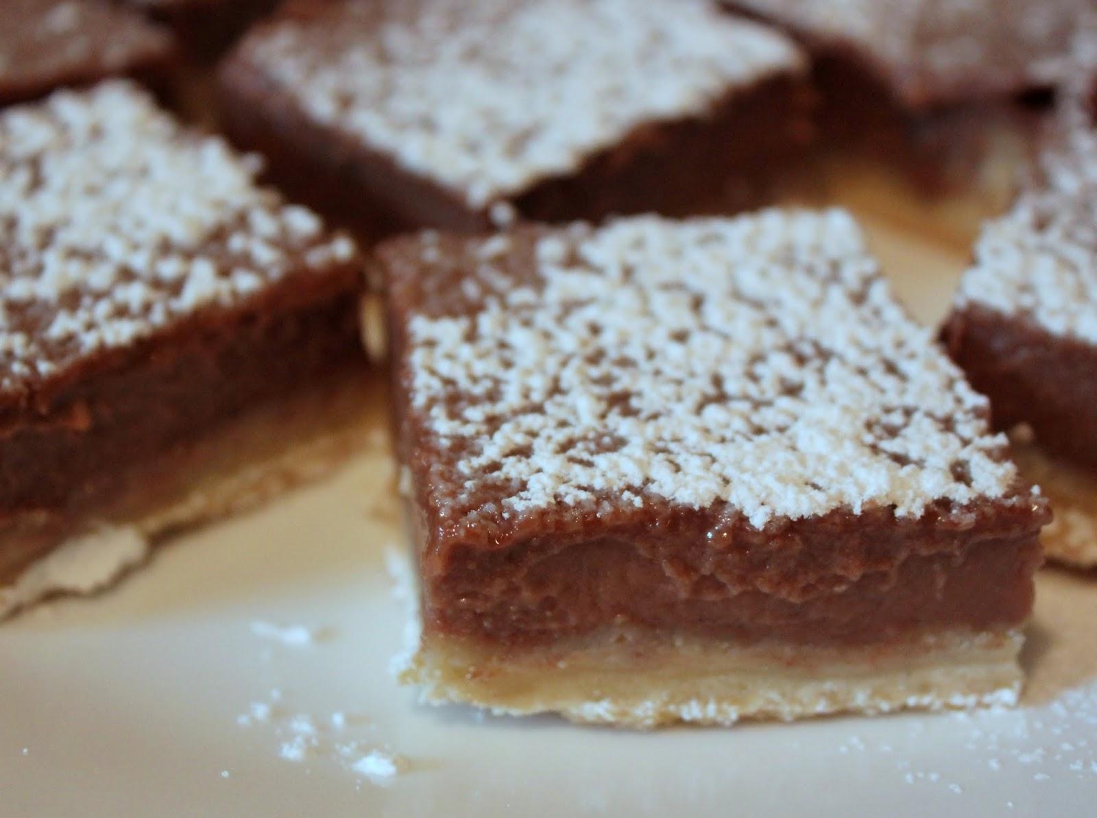 Everything in the Kitchen Sink: Nutella Buttermilk Bars