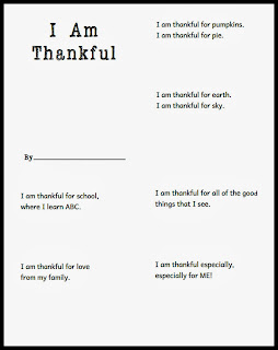lessons about being thankful for toddlers