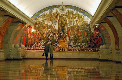 Park Pobedi - Metro Moscú