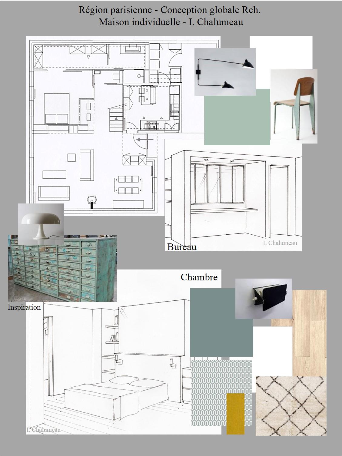 Isabelle chalumeau conception graphique et d coration d for Cours de decoration d interieur