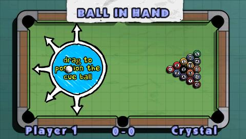 juego de billar para psp: