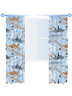 disney planes curtains