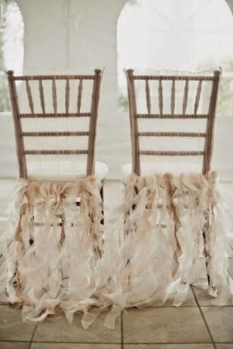 Easy diy wedding chairs decoration wedding trend for brides wedding chairs decor junglespirit Gallery
