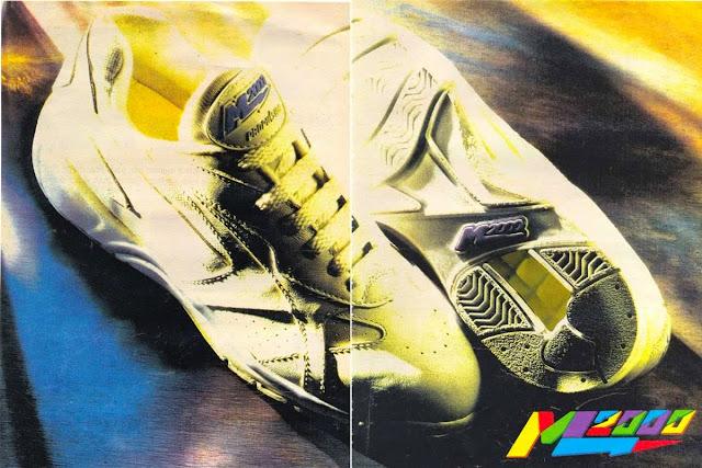 Propaganda do tênis M2000 veiculada em 1993.