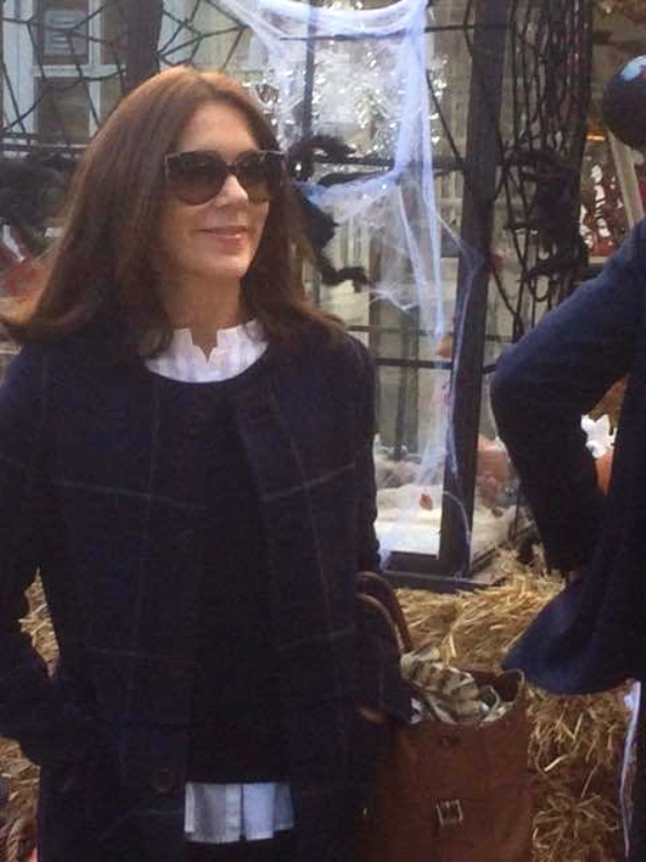 Princess Mary And Prince Frederik Visited Tivoli Gardens