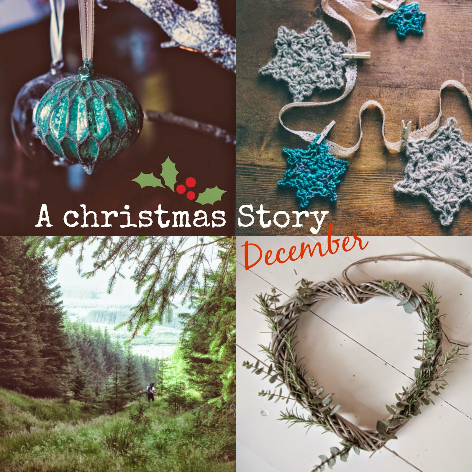 A handmade cottage A month in pictures a christmas story