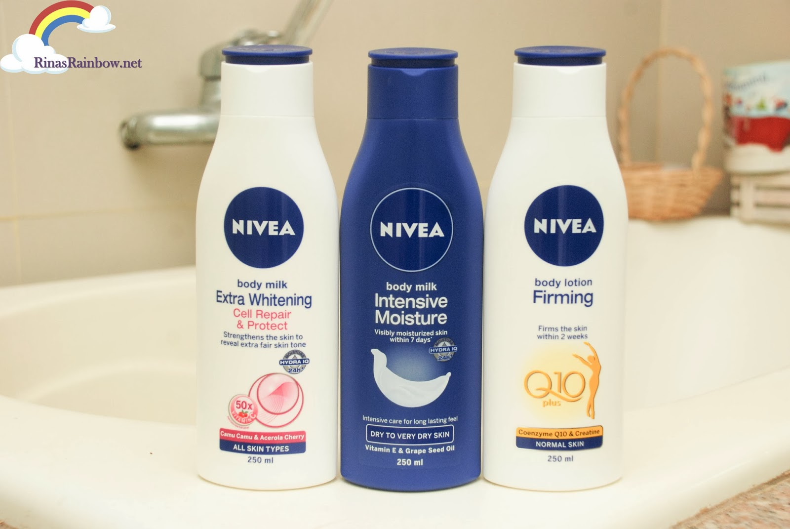 NIVEA new bottles eco friendly
