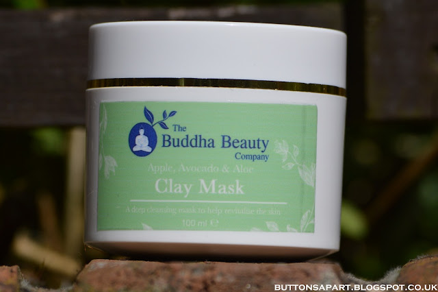 A picture of the face mask from The Buddha Beauty Company