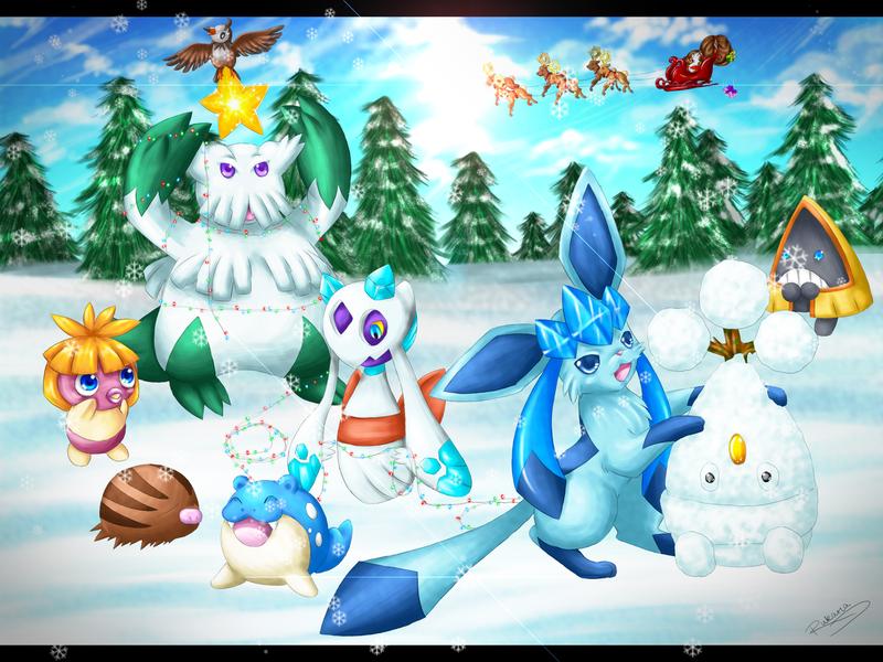 ice type pokemon wallpaper - photo #10