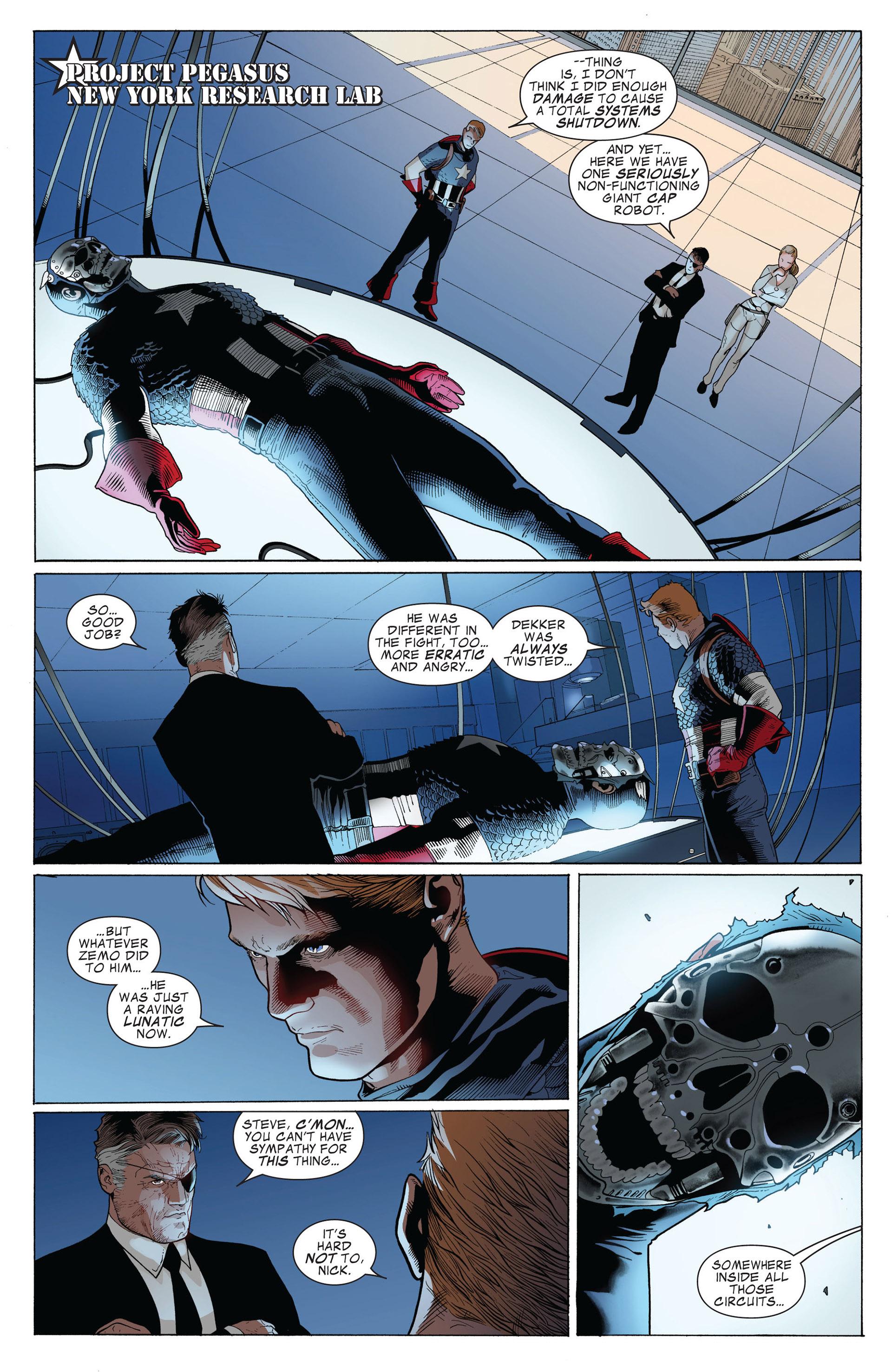 Captain America (2011) Issue #3 #3 - English 16