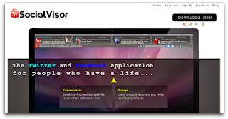 صورة من البرنامج Social Visor