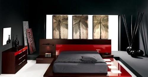 163 Chambre A Coucher Rouge Et Beige 2 - les 25 meilleures id es de ...