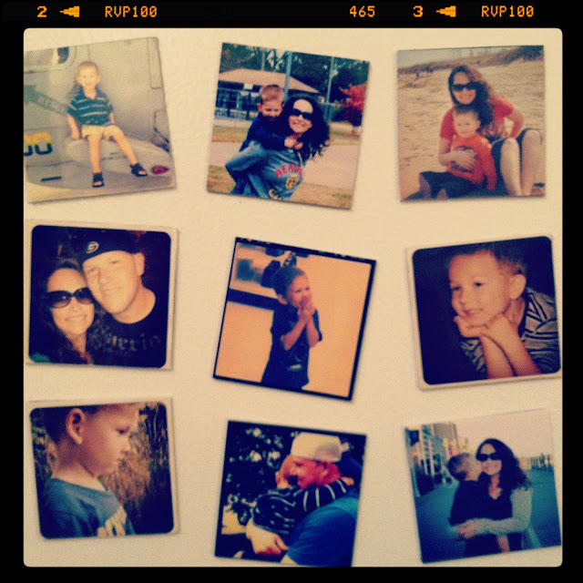 DIY Instagram Magnets